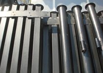 Металлические столбы в Мысках изготовление и монтаж г.Мыски