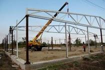 Восстановление геометрии металлоконструкций в Мысках и усиление зданий г.Мыски